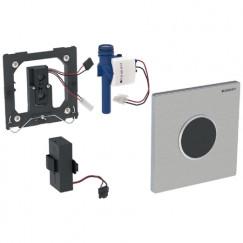 Geberit Sigma 10 bedieningsplaat infrarood batterij Rvs Geborsteld 116.035.SN.1