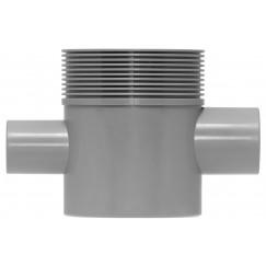Easydrain Multi sifon hoog zijuitlaat 50/40 mm. 2x  EDMSI2