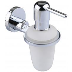 Novio P-line zeepdispenser chroom Chroom