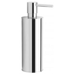 Novio Umea staande zeepdispenser 150 ml. chroom Chroom