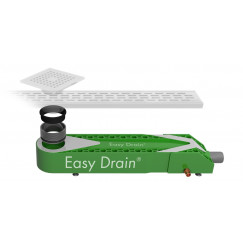 Easydrain Wtw warmte terug win systeem 65x16 cm.h 90mm.met sifon  ED-WTW