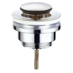"Novio Flowline wastafelplug 1 1/4"" 37 mm. afslbr.click open chr. Chroom"