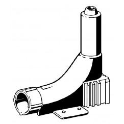 Viega Pexfit kunststof doorvoer bocht 12-16 mm.  309855