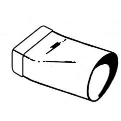 Upmann  upmann overgangsstuk 110/53x104mm.wit