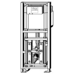Viega Eco Plus inbouwreservoir hoog laag frontbed.hxb 113x49 cm.