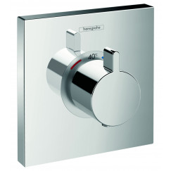 Hansgrohe Showerselect afdekset highflow thermostaat chroom Chroom 15760000