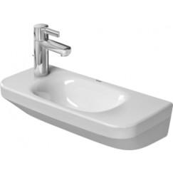 Duravit Durastyle fontein 50x22 cm. zonder kraangat wit Wit 0713500000