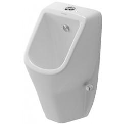Duravit D-code urinoir toevoer boven / met sifon en bevestiging Wit 0828300000
