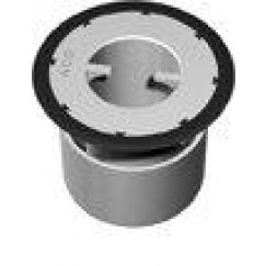 Aco Flexdrain E stankslot 25 mm. kunststof voor douchegoot Grijs 9010.58.67