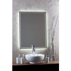Novio Led Line spiegel 100x80 decor rondom+ind.led verl+verwarmin