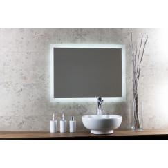 Novio Led Line spiegel 60x80 cm. met rondom led verlichting
