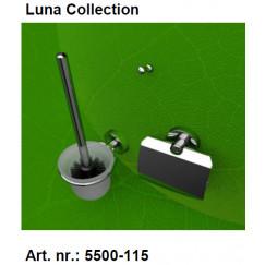 Geesa Luna accessoires pack 5508,5510,2801+extra zw.borstel Chroom 915500-115