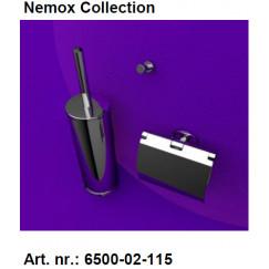 Geesa Nemox pack 6508-02,6511-02,6513-02+extra zw.borstel chr. Chroom 916500-02-115