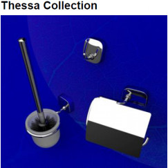 Geesa Thessa accessoires pack 2408-02,2411-02,2413-02+losse zwb Chroom 912400-02-115