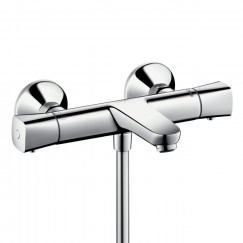 Hansgrohe Ecostat S universele badthermostaat 15 cm.