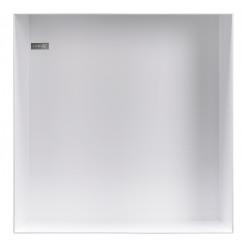 Looox Box in-opbouwnis 30 x 30 cm. wit Wit CBOX30W