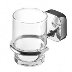 Geesa Thessa glashouder met glas chroom Chroom 912402-02