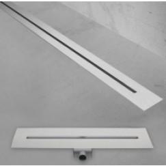 Easydrain Xs Nano douchegoot 90 cm. waterslot 50 Rvs Geborsteld Nano-Line-900