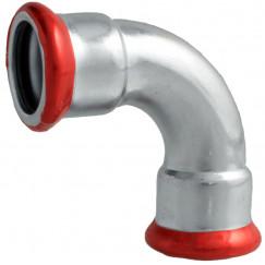 Bonfix Press bocht 90 gr. 15 x 15 mm. pers staalverzinkt Staal Verzinkt 300410