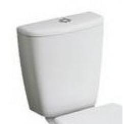 e-con reservoir voor duoblok 3/6 ltr. wit Wit