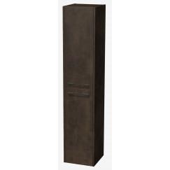 Novio Opus hoge kast 35x35x170 cm. met 2 deuren Brons 33