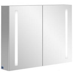 Villeroy & Boch My View 14 spiegelkast 80x75 cm. 2 deuren en led verlichting