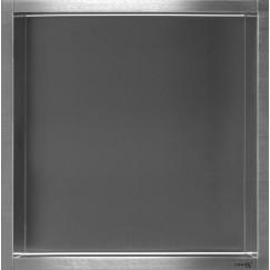 Looox Box inbouw 30x30x7cm rvs geborsteld Rvs Geborsteld BOX30