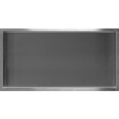 Looox Box inbouw 60x30x7cm rvs geborsteld Rvs Geborsteld BOX60