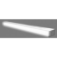Looox B-line led badkamerlamp 8 watt 40 cm. aluminium look Aluminium SPLAMP-40