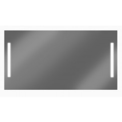 Looox M-line spiegel 120x70 cm.verlichting l+r en verwarming