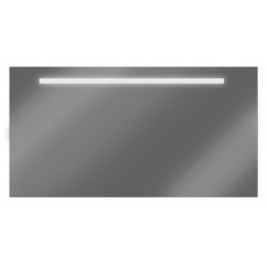 Looox M-line spiegel 130 x 60 cm.met verlichting en verwarming