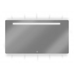 Looox Ml-line spiegel 120x70 led verl.onder+boven+geintegreerd  SPML2-1200-700