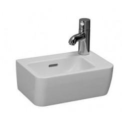 Laufen Pro A fontein 36x25 cm. kraangat rechts wit Wit H8169550001061