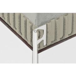 Schluter Jolly-p decoratief profiel wit pergamon 10mm 250cm Wit W100