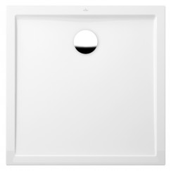 Villeroy & Boch Futurion Flat douchebak 90x90x2.5cm wit Wit UDQ0900FFL1V-01