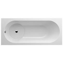 Villeroy & Boch Libra bad douchecomb. 160x70cm met poten wit Wit UBQ167LIB2V-01