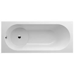 Villeroy & Boch Libra bad douchecomb. 180x80cm met poten wit Wit UBQ180LIB2V-01