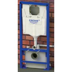Sanibroyeur Saniwall Pro inb. wc element+glazen voorpaneel & faecalienvern.  WALLPROUPD