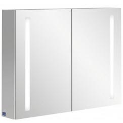 Villeroy & Boch My View 14 spiegelkast 100x75 cm. 2 deuren en led verlichting  A4221000