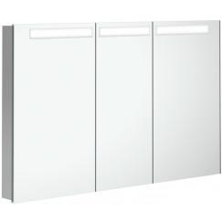 Villeroy & Boch My View In inbouw spiegelkast 120cm.3xdeur+led+vergr.spiegel  A4351200
