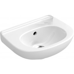 Villeroy & Boch O.novo fontein 36x27.5cm zonder kraangat wit Wit 53603701