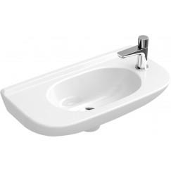 Villeroy & Boch O.novo fontein 50x25cm 1kraangat z/overloop wit Wit 53615101