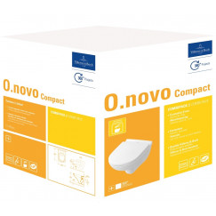 Villeroy & Boch O.novo combipack compact wandcloset m/zitting ceramic+