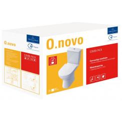Villeroy & Boch O.novo combipack duobloccomb.pk met qr + sc zitting wit Wit 5661T301