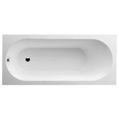 Villeroy & Boch Oberon bad rechthoek 170x75cm met poten wit Wit UBQ170OBE2V-01