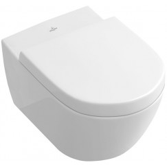 Villeroy & Boch Subway 2.0 wandcloset direct flush ceramicplus wit Wit 5614R0R1