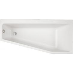 Villeroy & Boch Subway bad offset 170x80cm rechts wit Wit UBA178SUB3REV-01