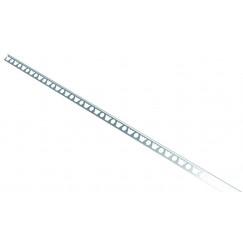 Wedi  afschotprofiel vloer links 1800x12,5 mm.  108140012
