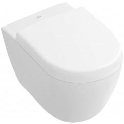 Villeroy & Boch Subway 2.0 wandcloset 35,5x48 cm. verkort ceramicplus wit Wit 560610R1