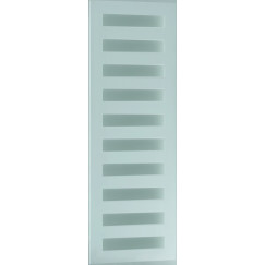 Novio Neptunus radiator 500x1470 mm n9 as=50 mm 609w wit ral 9016 Wit Ral 9016
